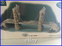 Department 56 Historical Landmark Christmas in the City Brooklyn Bridge