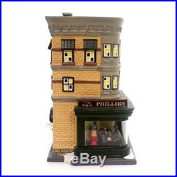Department 56 House NIGHTHAWKS Porcelain Christmas In The City 4050911