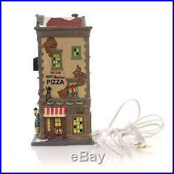 Department 56 House SAL'S PIZZA & PASTA Porcelain Christmas In The City 4056623