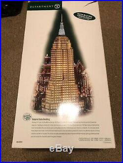 Department 56 Huge Christmas in the City Empire State Building With Box