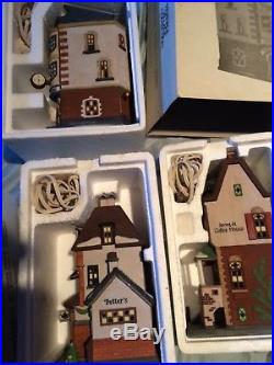 Department 56 Mainly Christmas in the City CIC 18 items