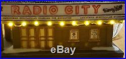 Department 56 Radio City Music Hall 2002 Christmas in The City Light Illuminate