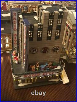 Department 56 Radio City Music Hall Christmas In The City #56.58924 Mint