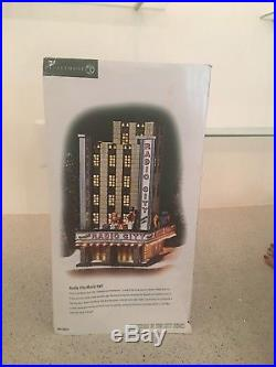 Department 56 Radio City Music Hall Christmas in the City. Original box