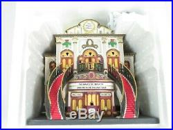 Department 56 THE MAJESTIC THEATER Christmas in the City (58913) Limited Ed, EUC