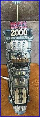 Department 56 THE TIMES TOWER 2000 Christmas in the City Special Ed #55510