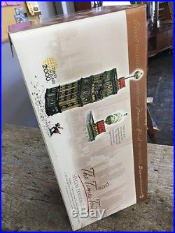 Department 56 THE TIMES TOWER Special Edition Gift Set 55510 New in Box