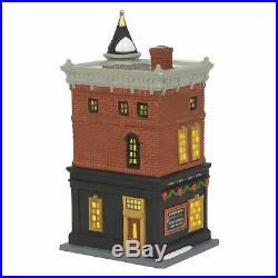 Department 56 The City, Welcoming Christmas 6002290 Platinum Exclusive Set of