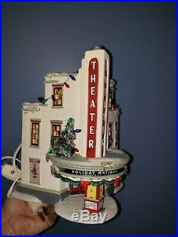 Department 56 The Theather A Christmas story lighted house