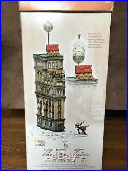 Department 56 The Times Square Tower 2000 NYC Special Edition Original Box