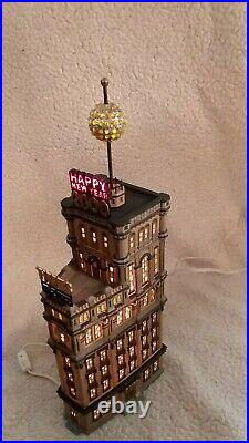Department 56 The Times Tower 2000 Special Edition CIC Gift Set