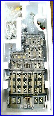 Department 56 Times Tower 2000 Times Square New Years Eve 55510 Special Edition
