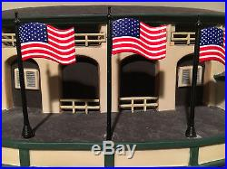 Department 56 Wrigley Field Chicago Cubs lighted with box World Series baseball