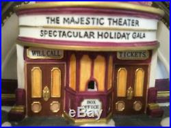 Department 56's Chritmas in the City Village, Majestic Theatre 25th Anniver