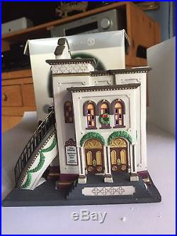 Department 56's Chritmas in the City Village, The Majestic Theatre 25th Anniver