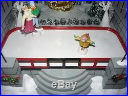 Department Dept 56 Christmas In The City Animated Rockefeller Plaza Skating Rink