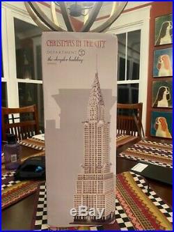 Department Dept 56 Christmas in The City Chrysler Building Village 4030342