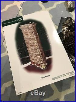 Department Dept. 56 FLATIRON BUILDING #59260 Christmas in the City in Box NYC NY