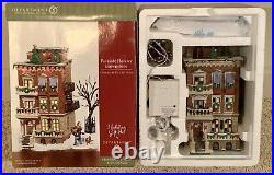 Dept. 56 2002 Christmas In The City Parkside Holiday Brownstone #56.58937