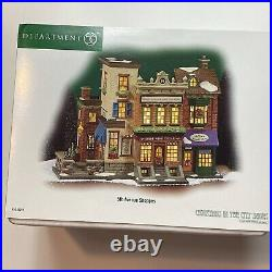 Dept. 56 2003 5th Avenue Shoppes Christmas In The City #56.59212 NEW With BOX