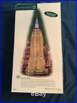 Dept 56 2003 Empire State Building 56.59207 Never Been Displayed