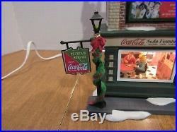 Dept 56 2004 Christmas In The City Coca Cola Soda Fountain #56.59221