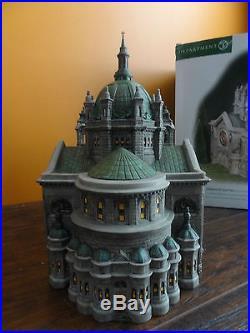 Dept 56 58930 Cathedral Of Saint Paul Christmas In City Church Landmark Village