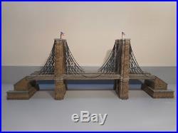 Dept 56 #59247 Brooklyn Bridge CIC Series