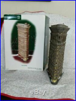 Dept 56 A Christmas In The City Flatiron Building Used Please Read