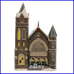 Dept 56 Buildings CHURCH OF THE ADVENT Porcelain Christmas In The City 4044792