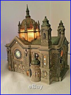 Dept 56 CATHEDRAL OF ST PAUL Historical Landmark Patina Dome 58930