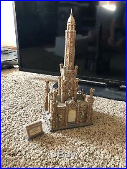 Dept. 56 CHICAGO WATER TOWER Christmas in the City Lights Up Free shipping