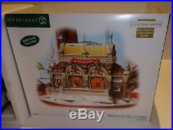 Dept 56 CHRISTMAS AT LAKESIDE PARK PAVILION Christmas In The City COLLECTORS ED