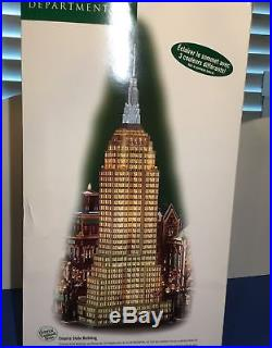 Dept 56 CHRISTMAS IN THE CITY EMPIRE STATE BUILDING # 59207 BRAND NEW