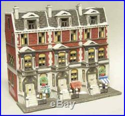 Dept 56 CHRISTMAS IN THE CITY Sutton Place Brownstone