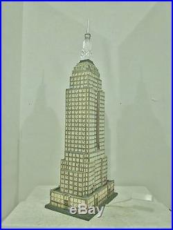 Dept 56 CIC #56.59207 Historic Landmark Series EMPIRE STATE BUILDING LNIB