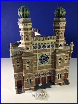 Dept 56 CIC Christmas in the City CENTRAL SYNAGOGUE 56.59204 Brand New! RARE