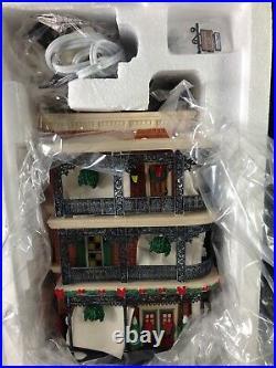 Dept 56 CIC Christmas in the City JAMBALAYA CAFE 56.59265 Brand New! RARE