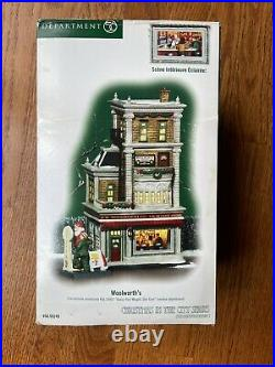 Dept 56 CIC Christmas in the City WOOLWORTH'S 56.59249 Department