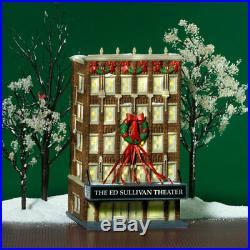 Dept 56 CIC Ed Sullivan Theater Mint In Box 59233