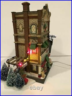 Dept 56 CIC Miller & Son Harware & Garden Center Holiday Gift Set In Box