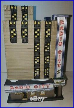 Dept 56 CIC Radio City Music Hall