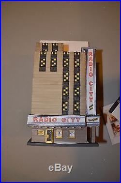 Dept 56 CIC Radio City Music Hall MINT