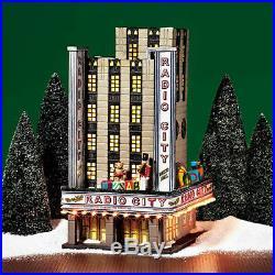 Dept 56 CIC Radio City Music Hall With Box No Power Supply 58924