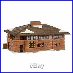 Dept 56 CITC Frank Lloyd Wright Heurtley House Lit Building NEW 4054987 2017 D56