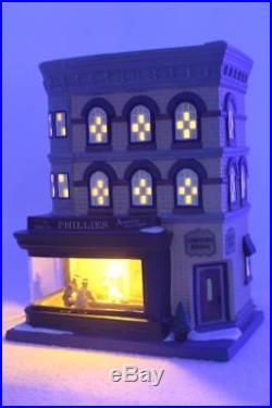 Dept 56 CITC'Nighthawks' Beautiful Iconic Corner Cafe Series #4050911 NIB