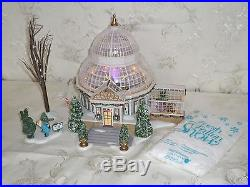 Dept 56 CRYSTAL GARDENS CONSERVATORY Christmas In The City FREE SHIPPING