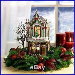 Dept 56 Christmas In City 2004 CHRISTMAS TREASURES #59240 NRFB Village Retired