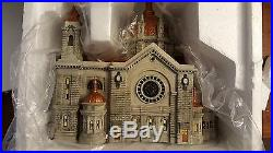 Dept 56 Christmas In The City 2001 Sp Ed Anniv CATHEDRAL OF ST PAUL 58919 NIB