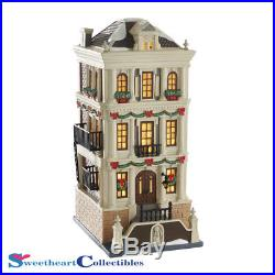 Dept 56 Christmas In The City 4049193 Holiday Brownstone Retired